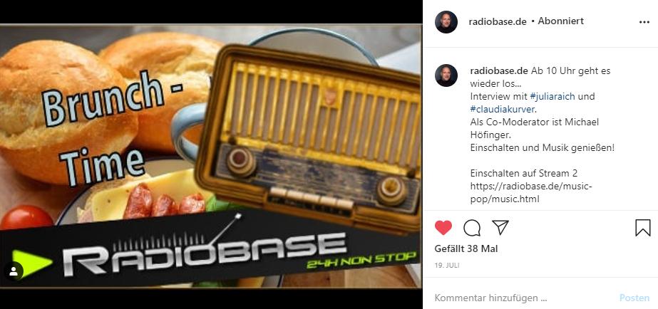 Radiobase Liveinterview